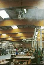 Refroidissemnt adiabatique batiments